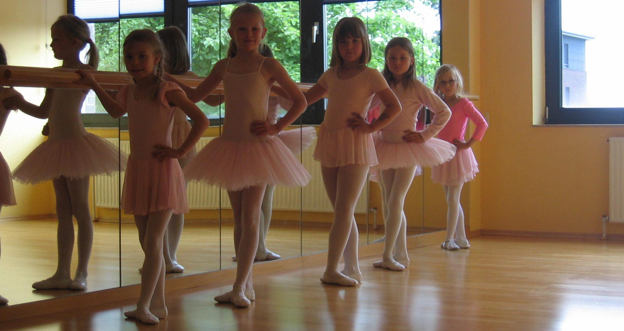 Klassisches Ballett für Schulkinder