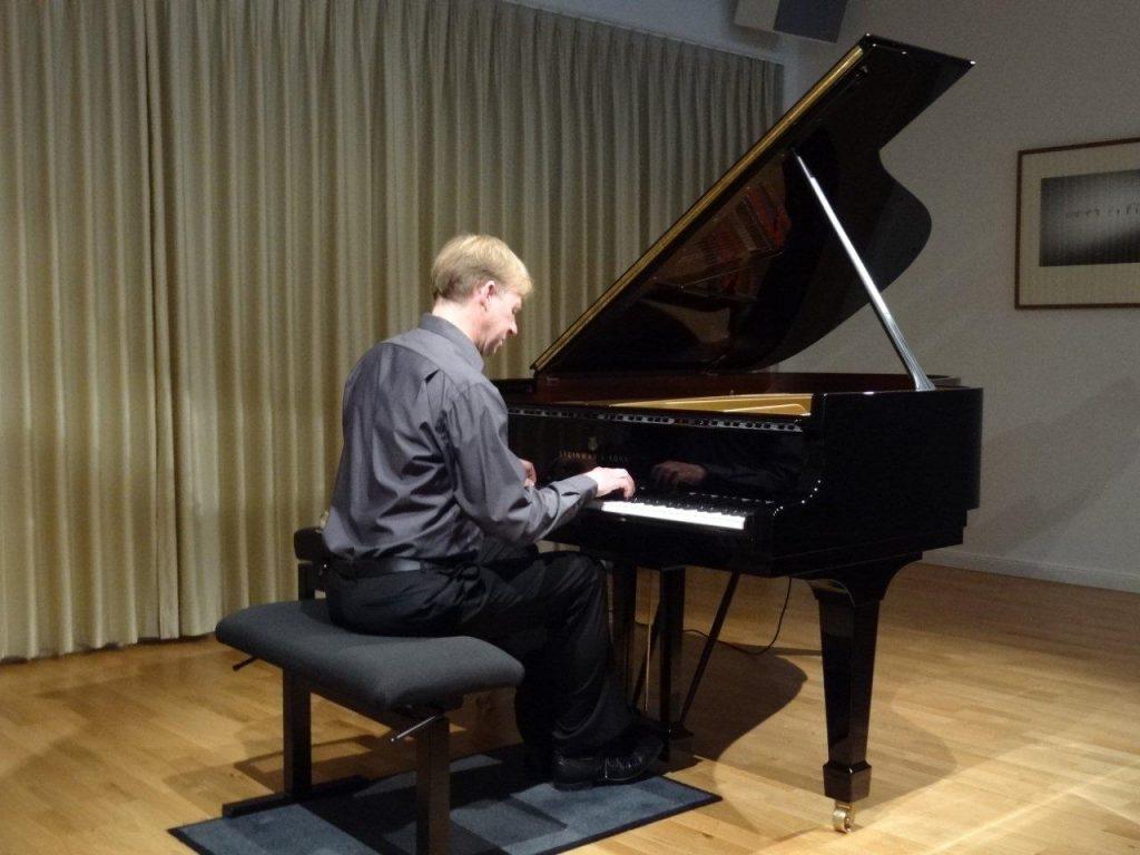 Klavierkonzert im großen Saal
