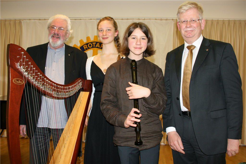 Rotary Musikpreisverleihung