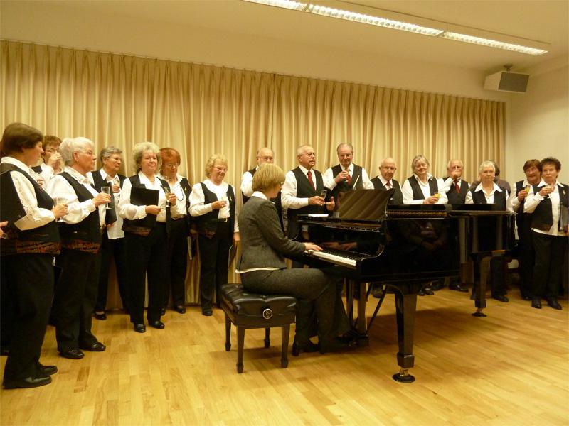 Chor im großen Saal