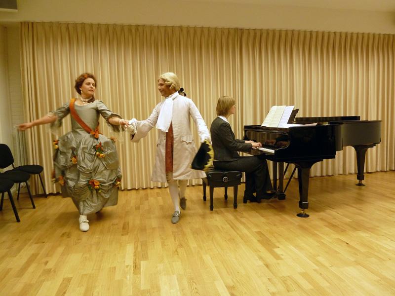 Tanz im großen Saal